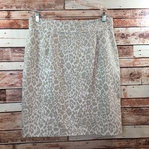 Antonio Melani straight skirt animal print, 14